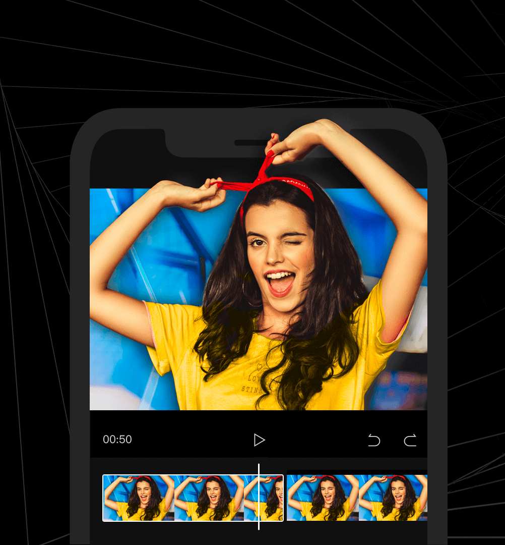 Capcut is a free, all-in-one video editing app with everything you need to cerate stunning, high-quality videos.